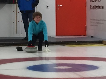 Fit 50 bei Curling 2017